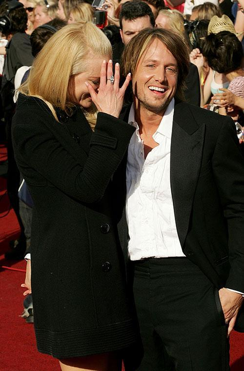 Nicole Kidman and Keith Urban celebrated their 11-year wedding anniversary over the weekend. Aww! The Aussie parents of two have always been total couple goals and what better way to celebrate their love than with a trip down memory lane?  Let's kick off with a throwback to a cute appearance at Sydney's ARIA Awards in 2007. Nic played the shy retiring type while Keith looked proud as punch!