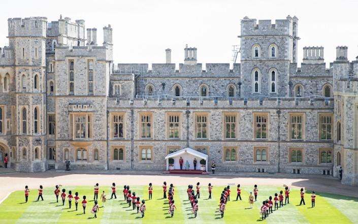 Windsor Castle will re-opened to the public on July 23 - Pool/Samir Hussein