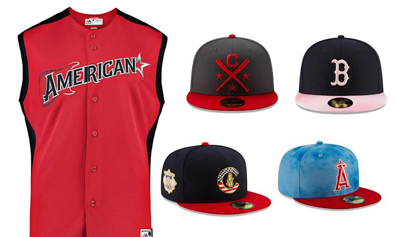 9abe4a15 MLB uniforms unveiled for All-Star Game, Father's Day, Mother's Day