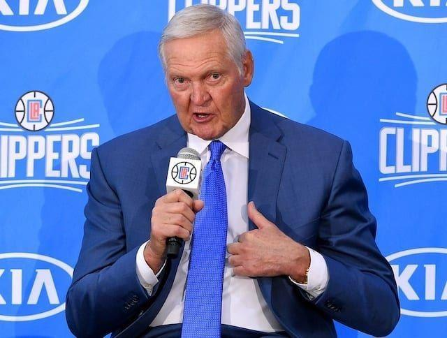 ▲Jerry West。(圖/翻攝自Lakers Nation )