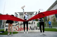 Fridays for Future protest against climate protection act in Berlin