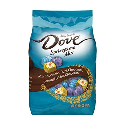 """<p><strong>Dove</strong></p><p>amazon.com</p><p><strong>$9.98</strong></p><p><a href=""""https://www.amazon.com/dp/B01N6BVQGL?tag=syn-yahoo-20&ascsubtag=%5Bartid%7C10070.g.2201%5Bsrc%7Cyahoo-us"""" target=""""_blank"""">Shop Now</a></p><p>The fun spring-themed wrappings of these love Dove chocolates will add bright pops of color to any Easter basket.</p>"""