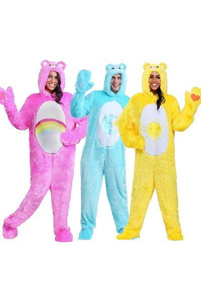 """<p>$50+</p><p><a class=""""body-btn-link"""" href=""""https://go.redirectingat.com?id=74968X1596630&url=https%3A%2F%2Fwww.halloweencostumes.com%2Fcare-bear-costumes.html&sref=http%3A%2F%2Fwww.womansday.com%2Flife%2Fg3083%2Fbest-group-halloween-costumes%2F"""" target=""""_blank"""">SHOP NOW</a></p><p>Your entire group will stay warm all night in these cozy <em>Care Bears</em> costumes.<em></em></p>"""