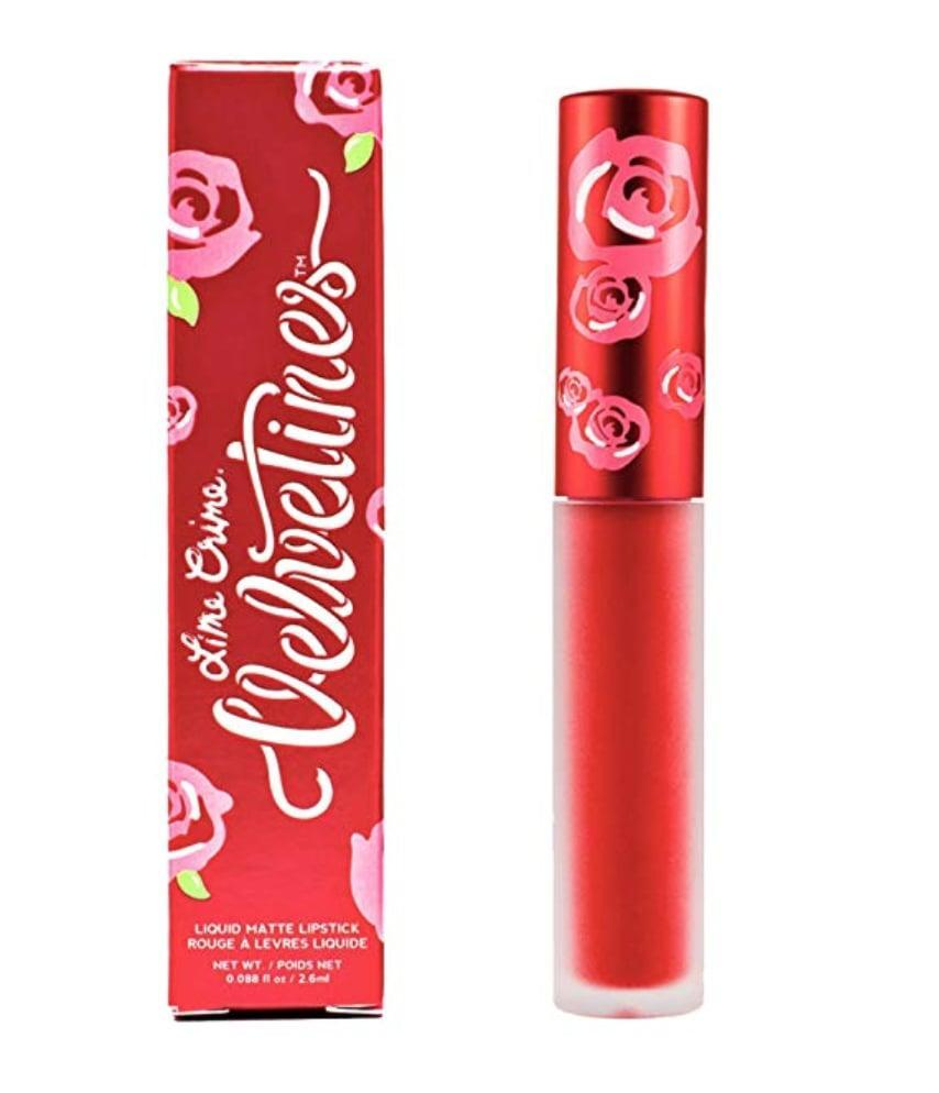 <p>There's no denying that the <span>Lime Crime Velvetine</span> ($20) is a longtime fan-favorite, and for good reason. As its name implies, lips feel like velvet after just one swipe of this budge-proof, bleed-proof formula.</p>