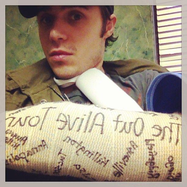 Kris Allen in January 2013. (Photo: Kris Allen)