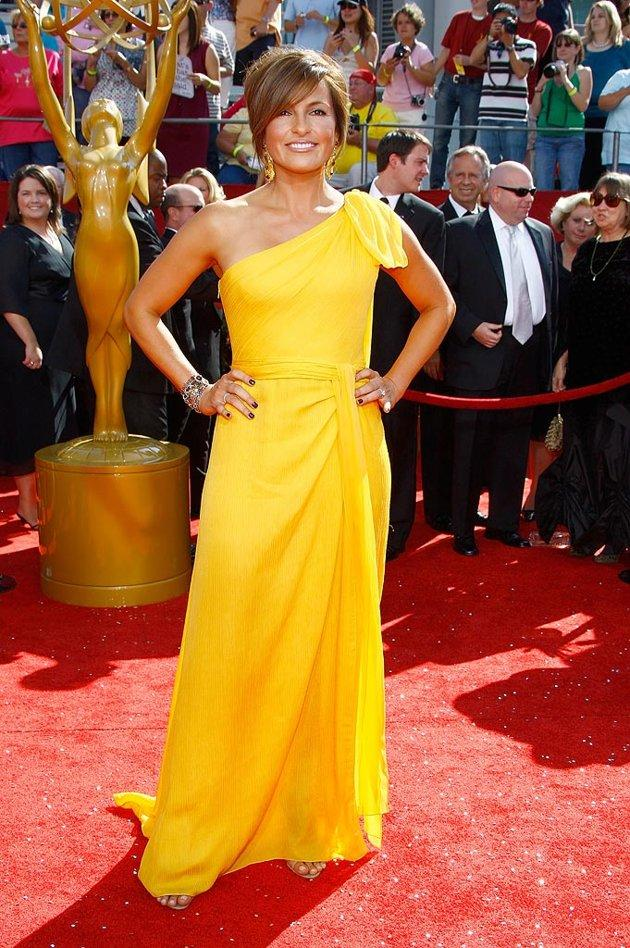 BEST: Mariska Hargitay at the 60th Primetime Emmy Awards held at Nokia Theatre on September 21, 2008.