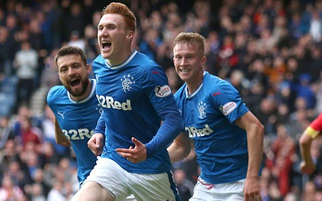 """Jimmy Nicholl can help buy Steven Gerrard valuable time tomorrow if he can steer Rangers to second place in the Scottish Premiership. The Ibrox side will secure the runners-up spot if they beat Hibernian at Easter Road and Aberdeen lose or draw against Celtic at Parkhead. A second-place finish – if coupled with a victory for overwhelming favourites, Celtic, in next weekend's William Hill Scottish Cup final at Hampden Park – would see Rangers avoid the hazards of a Europe League first qualifying round tie and allow incoming manager Gerrard an extra two weeks to secure and prepare players for entry to the second qualifying round. Nicholl, in charge at Ibrox on a caretaker basis following the sacking of interim boss Graeme Murty, was appointed player-manager of Raith Rovers at the age of 33 – four years younger than Gerrard is now – and went on to win the Scottish League Cup and qualify for the Uefa Cup, At one stage, Raith led Bayern Munich 1-0 at half-time in the Olympic Stadium. In contrast, last season saw Rangers play their first European tie for five years only for Pedro Caixinha to supervise the club's worst ever result when they were ejected from the Europa League by the might of mid-table Luxembourg power, Progres Niederkorn. How far, then, are Rangers from emulating Raith's adventures under Nicholl? """"If you look at what they did last year they are a million miles away, but you can't think like that,"""" said the Northern Irishman. """"If he [Gerrard] gets a run in Europe, he is off to a flier right away. The only way to get rid of negativity is to do better than the previous year but you have to have the players who can do a job for you."""" Steven Gerrard could be given a couple more weeks to prepare for Europa League if Rangers finish second Credit: Getty Images Nicholl, who had two spells at Ibrox as a player, highlighted the damaging impact of a current phenomenon on today's squad. """"That social media, I just stay away from it,"""" he said. """"If Rangers win a game of f"""