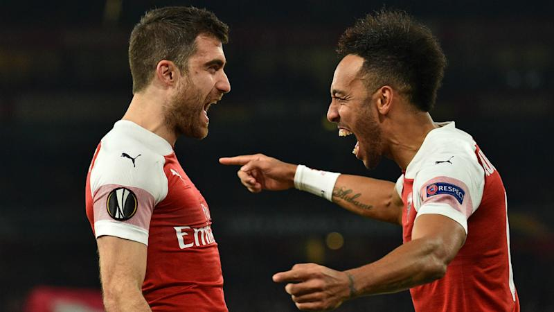 afc6567540d  Every minute we have to give 100 percent  - Sokratis insists Arsenal can  finish in the top four