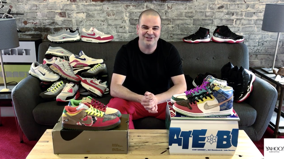 4027feb31a9 Collector is 'beyond obsessed' with Nikes: 'I once had 600 pairs of ...