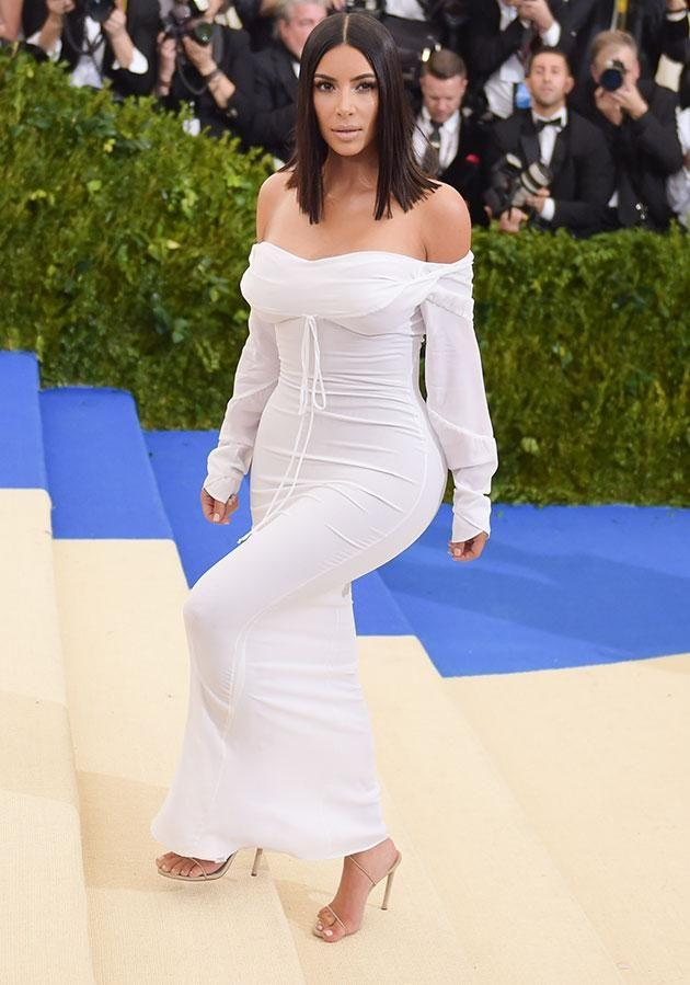 She really struggled to attend the Met by herself. Source: Getty