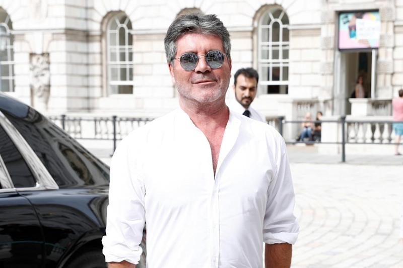 All good: Simon Cowell claimed he has no issues with the group (Getty Images)