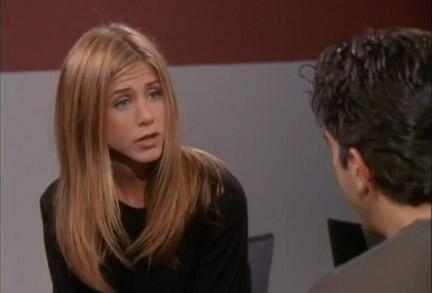 <p>Aniston admits she prefers long hair off-screen, so perhaps that's why Rachel Green's do continued to grow. This season she added highlights .</p>