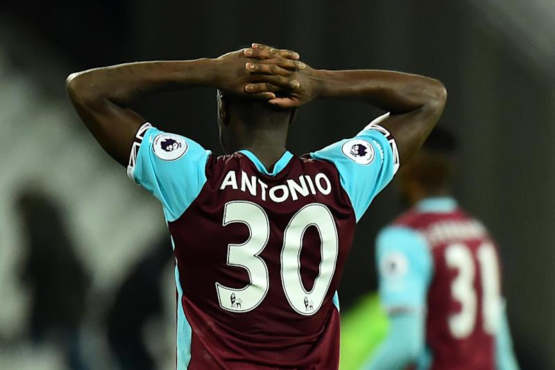 Under the Hammer | Antonio would latter join West Ham for £7m: Glyn Kirk/AFP/Getty Images