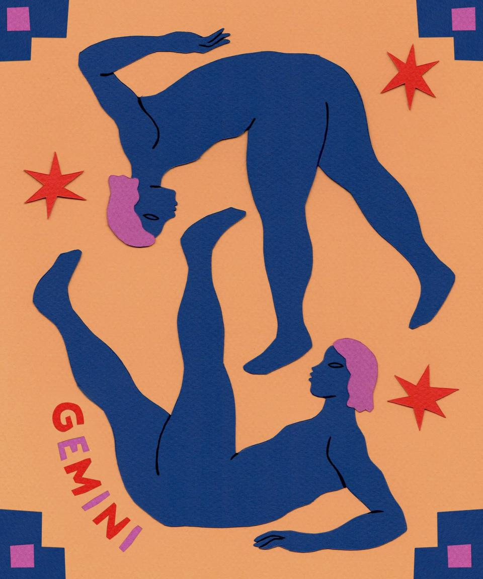 """<strong>Gemini</strong> <br><strong>21st May 21 to 20th June</strong><br><br><br>Embrace abundance, Gemini. July 5 brings a Lunar Eclipse in Capricorn, opening your eyes to hidden belongings and <a href=""""https://www.refinery29.com/en-us/how-to-make-money-online-guide"""" rel=""""nofollow noopener"""" target=""""_blank"""" data-ylk=""""slk:unexpected sources of income"""" class=""""link rapid-noclick-resp"""">unexpected sources of income</a>. You can begin to build up your confidence again, after a nearly month-long Mercury retrograde, on July 12 as the messenger planet stations direct again in Cancer. It's easier for you to communicate your ideas and thoughts, especially after July 26, when the post-retrograde shadow passes. Your attentions become more focused starting July 22, when the Sun highlights your 3rd house of communication, thought, and community. Reach out to people who challenge you intellectually during this transit. Passionate Jupiter creates a sextile with status minded Neptune on July 27, encouraging you to stand up for your ideas. You could be on the verge of creating something brilliant.<br><br><br><br><br>"""
