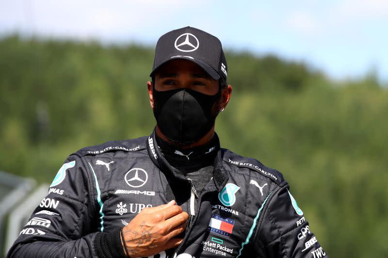 Lewis Hamilton regrets being 'silenced' on taking a knee in the past