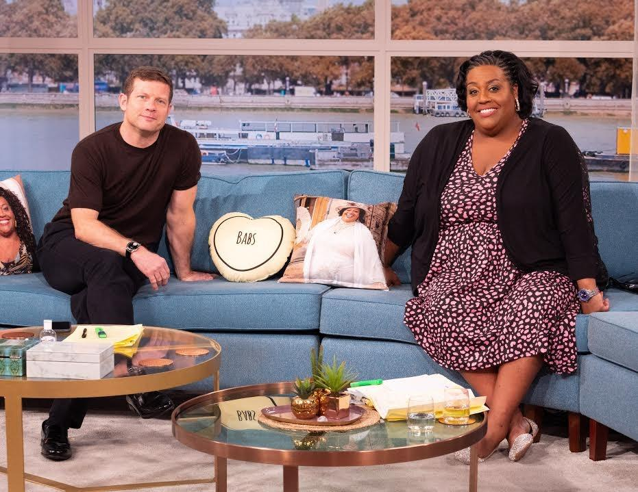 Dermot O'Leary and Alison Hammond are joining the regular 'This Morning' hosting line-up. (ITV/Ken McKay)
