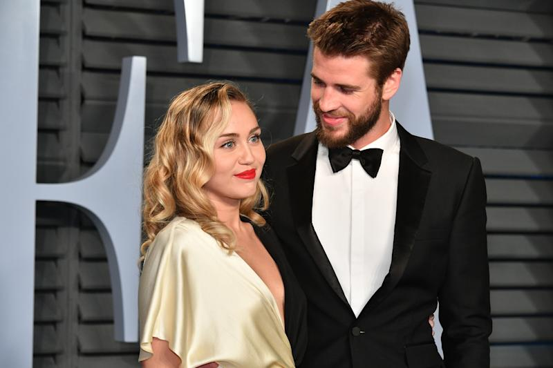 Hemsworth divorced Miley Cyrus in 2019. (Getty Images)
