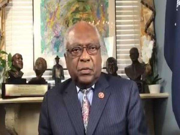 African American Congressman and Democratic House Member Whip Jim Clyburn speaking in his special video message on the occasion of 151st birth anniversary of Mahatma Gandhi.