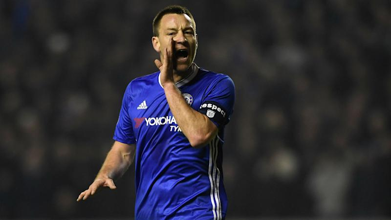 Terry denies rift with Conte at Chelsea
