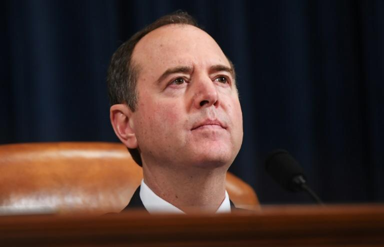 "House Intelligence Committee chairman Adam Schiff described Donald Trump's intervention as ""witness intimidation in real-time by the president"""