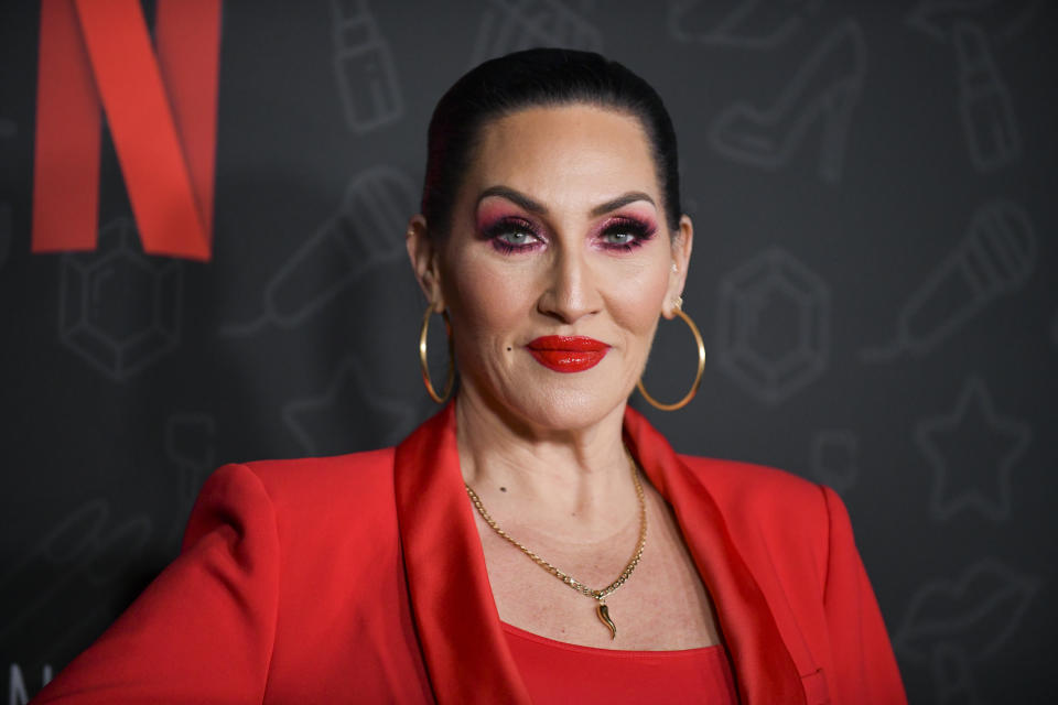 """Michelle Visage attends Premiere of Netflix's """"AJ and the Queen"""" Season 1 at the Egyptian Theatre on January 09, 2020 in Hollywood, California. (Photo by Rodin Eckenroth/FilmMagic)"""