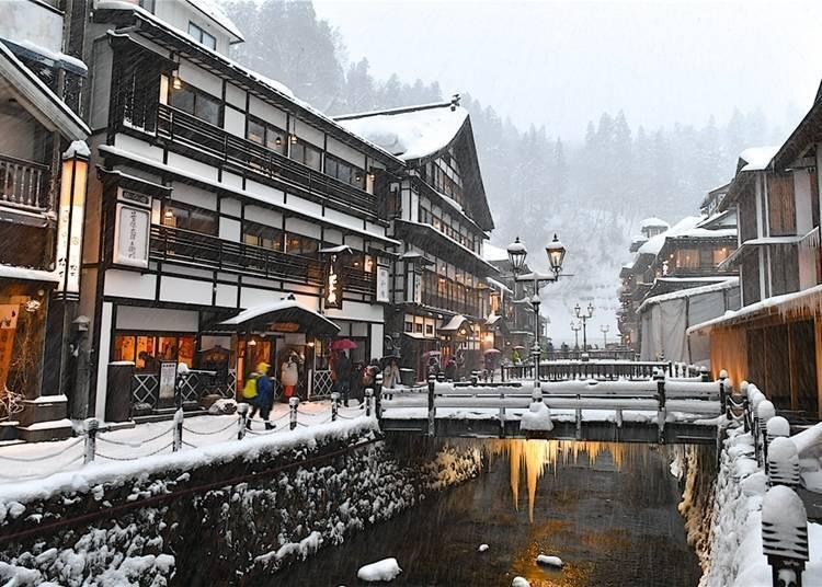 Ginzan Onsen: Classy and classic. Photo: Oliverouge 3 / Shutterstock.com
