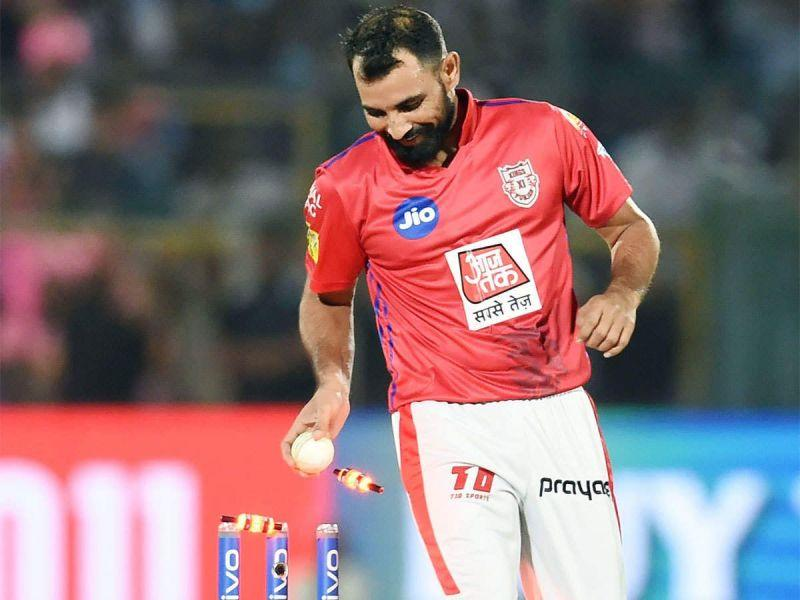 Shami was in excellent wicket taking form for KXIP in IPL 2019