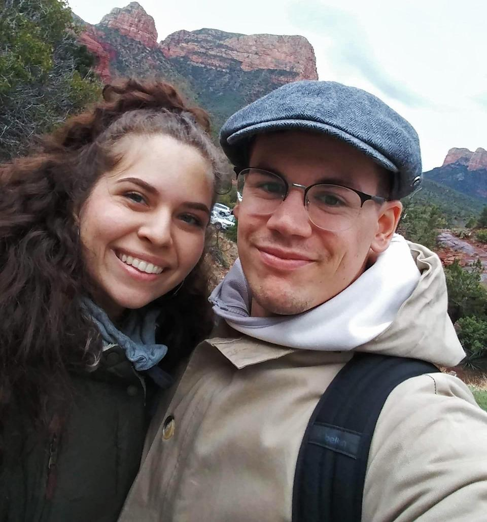 Alexandra Boles and Nicolas Caron met while studying abroad at the University of Edinburgh and have been engaged for a year. (Nicolas Caron)