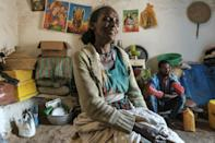 Local church officials say 164 civilians were killed in Dengolat the day of the attack on Beyenesh Tekleyohannes' house