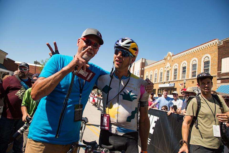 Colin Strickland, winner of the 2019 Dirty Kanza