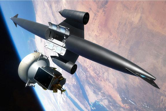 Futuristic Space Plane Concept Moves Closer to Reality