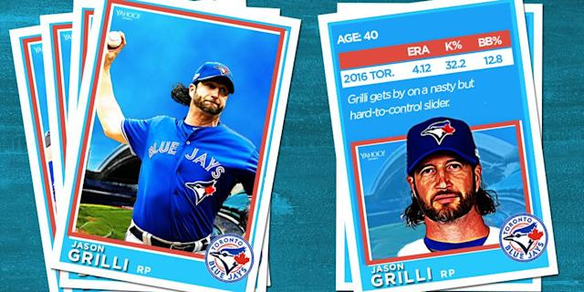 <p>It's always nice to have a grizzled veteran in the bullpen, and 40-year-old Jason Grilli certainly fits the bill. </p>