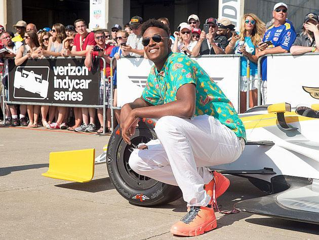 Myles Turner, in the sun. (Getty Images)