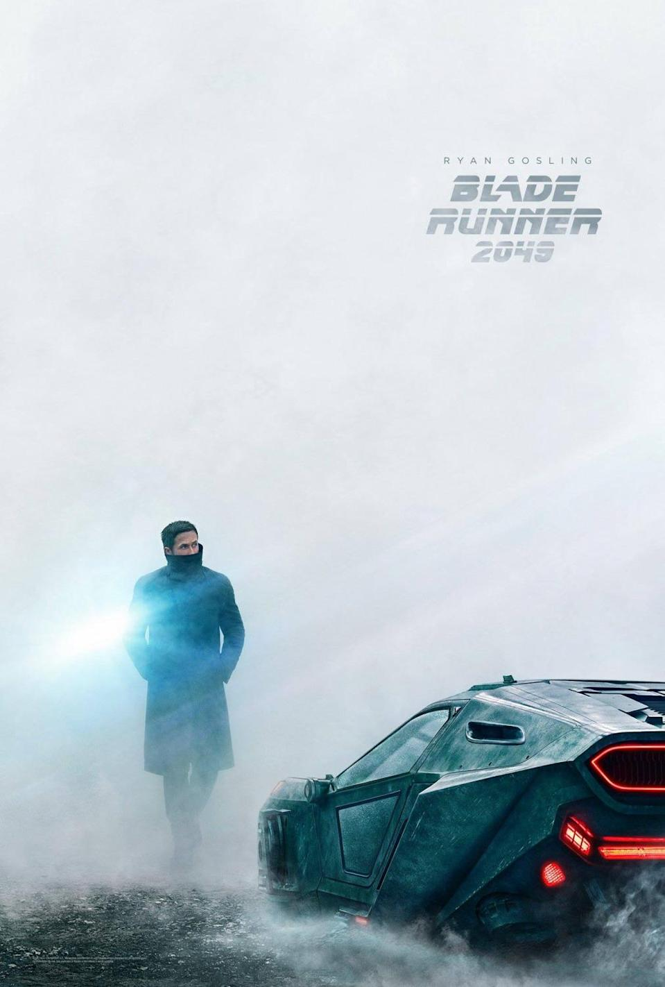 <p>Blade Runner 2049 – Ryan Golsing character poster (Sony Pictures) </p>