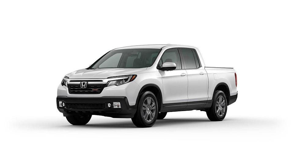 "<p><strong>Configuration: </strong>Sport trim level, FWD</p><p>Honda recently showed a <a href=""https://www.caranddriver.com/news/a34292096/2021-honda-ridgeline-revealed/"" rel=""nofollow noopener"" target=""_blank"" data-ylk=""slk:refreshed 2021 version"" class=""link rapid-noclick-resp"">refreshed 2021 version</a> of the <a href=""https://www.caranddriver.com/honda/ridgeline"" rel=""nofollow noopener"" target=""_blank"" data-ylk=""slk:Ridgeline"" class=""link rapid-noclick-resp"">Ridgeline</a>, but pricing is not yet available for the new model. We don't expect it will change too much from 2020, which starts off with the Sport trim level. The previous base model, called RT, was discontinued, which caused the price to rise significantly. The Sport does have a fair amount of standard creature comforts that are optional on other bare-bones mid-size trucks to justify its price, and it also only comes in crew-cab form. Front-wheel drive and a 3.5-liter V-6 are standard, and all-wheel drive is optional.</p>"