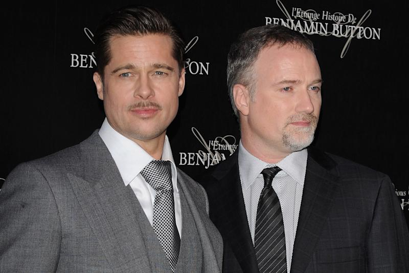 Reunited: Brad Pitt and David Fincher are set to collaborate on the World War Z sequel: Pascal Le Segretain/Getty Images