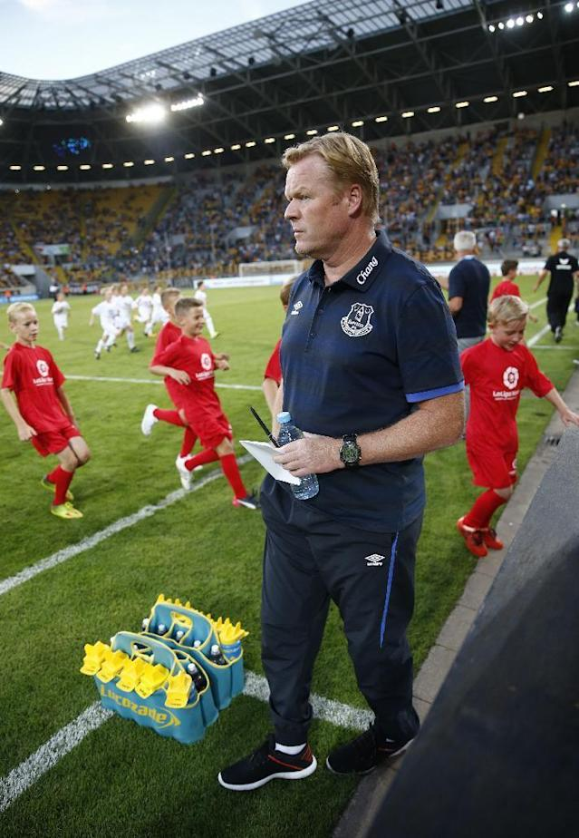 Football Soccer - Dynamo Dresden v Everton - Pre Season Friendly - Dresden Cup - DDV-Stadium, Dresden, Germany - 29/7/16 Everton manager Ronald Koeman before the match Action Images via Reuters / Hannibal Hanschke Livepic