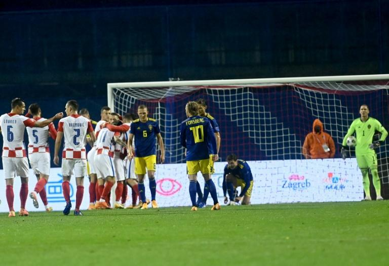 Croatia beat Sweden to claim first Nations League win