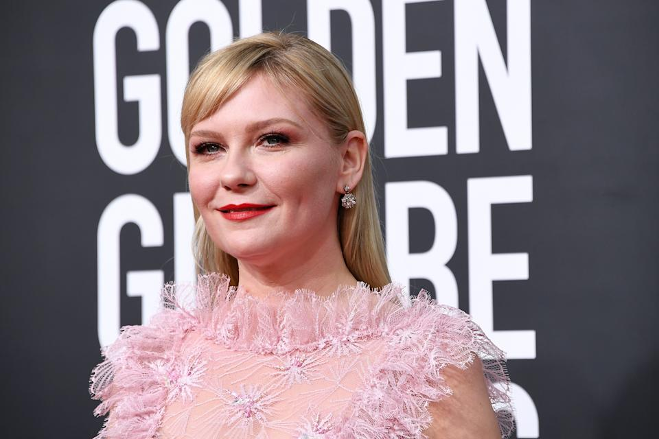 BEVERLY HILLS, CALIFORNIA - JANUARY 05: Kirsten Dunst attends the 77th Annual Golden Globe Awards at The Beverly Hilton Hotel on January 05, 2020 in Beverly Hills, California. (Photo by Steve Granitz/WireImage)
