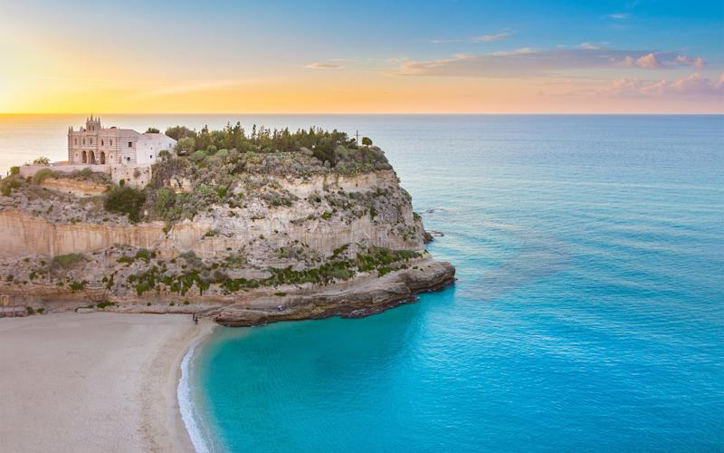 Calabria's coast is beguiling - getty