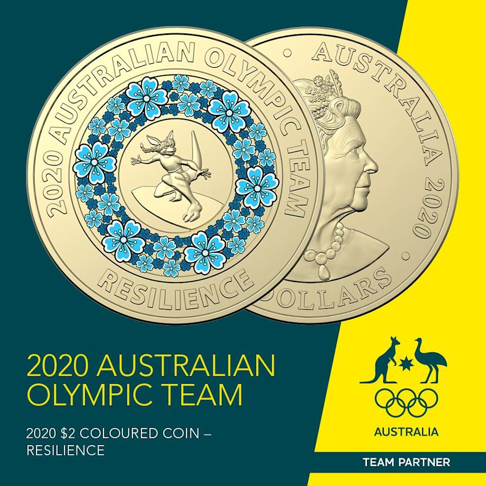 The release of the new-look $2 coins to celebrate the Olympics