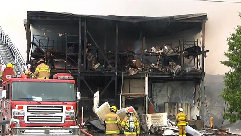 Knowlton bands together to help Brome Lake Ducks employees after fire