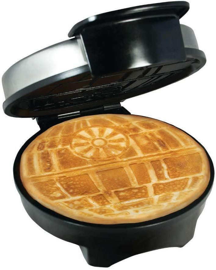 <p>Get your tween excited about making breakfast for themselves with a <span>Star Wars Death Star Waffle Maker</span> ($40).</p>