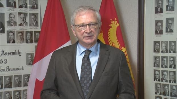 Premier Blaine Higgs says the province is developing a strategy to connect with trucking companies and employees directly and urge them to get vaccinated.