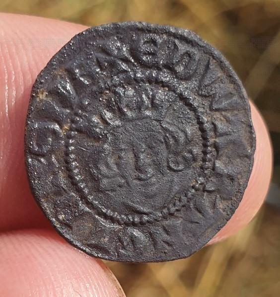 Coin dating to the 13th century
