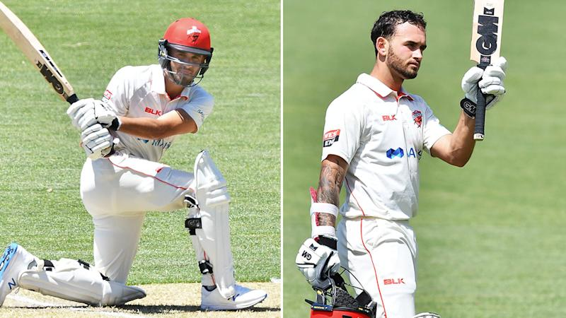 Jake Weatherald starred on a record-breaking day for South Australia in the Sheffield Shield.