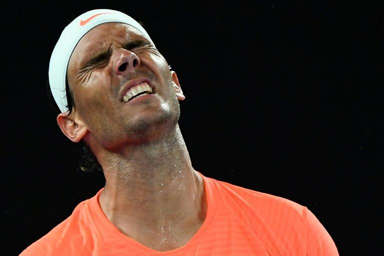 Nadal was attempting to win a record 21st Grand Slam title