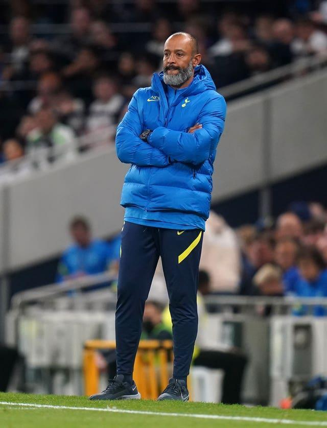Spurs boss Nuno Espirito Santo is also concerned about increasing the number of games