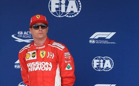 20th October 2018, Circuit of The Americas, Austin, USA; Formula One Grand Prix of The United States, qualification; Scuderia Ferrari, Kimi Raikkonen 3rd on pole for the race - Credit: action plus