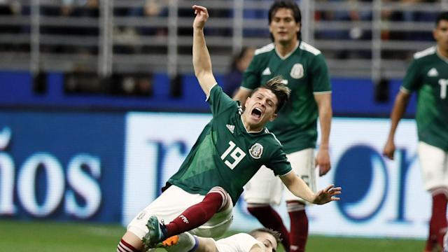 Mexico's director of national teams played a big role in the Monterrey midfielder's one-time switch and likes what he saw Wednesday